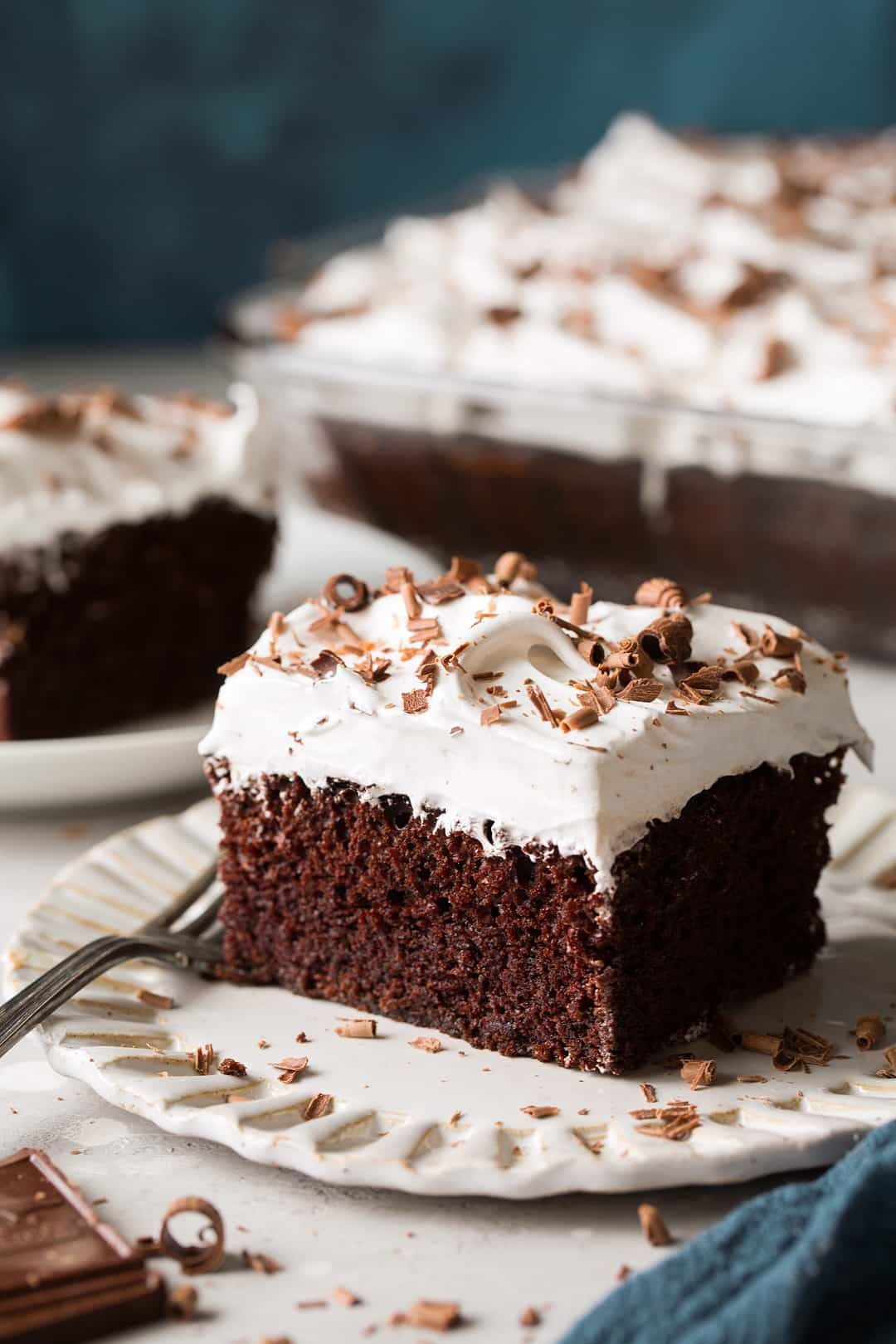 Chocolate Cake With Marshmallow Frosting Cooking Classy
