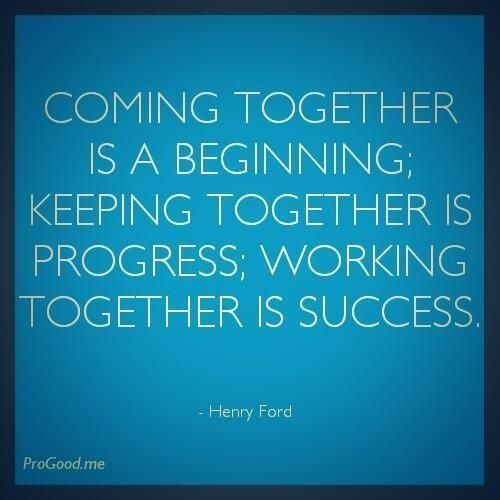 Teamwork, Inspirational And