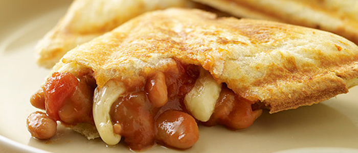 Bean & Parmesan Toasted Sandwiches recipe from Food in a Minute