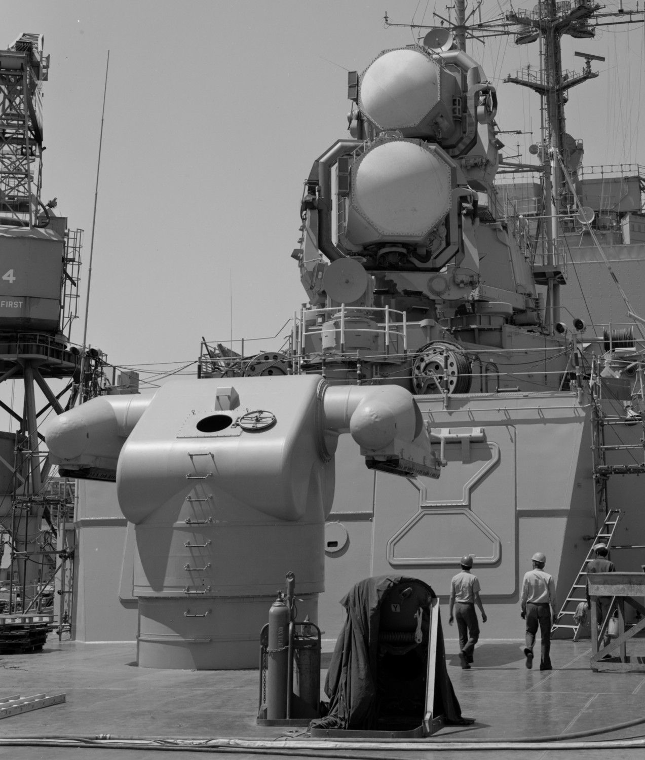 Mk 12 Guided Missile Launching System Gmls Aboard Uss
