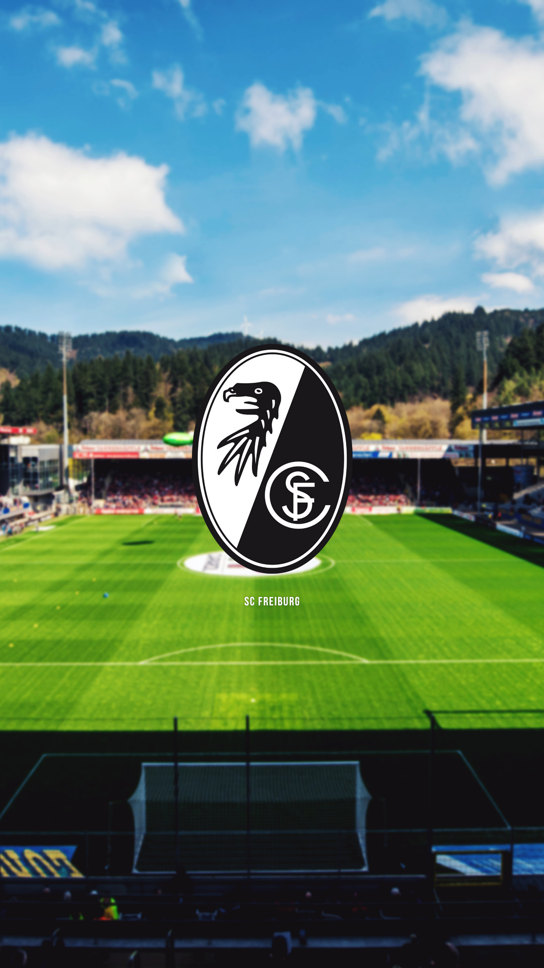 SC Freiburg of Germany wallpaper. Sc freiburg, Freiburg