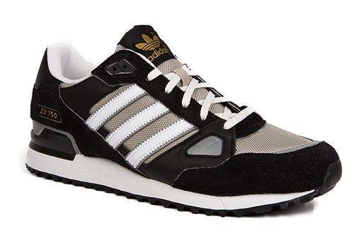 317 Adidas | Adidas Originals ZX 750 Schoenen Dames Zwart ...
