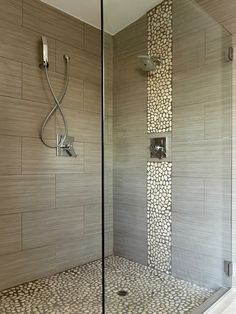 Grey tile shower ideas also master bath pinterest design