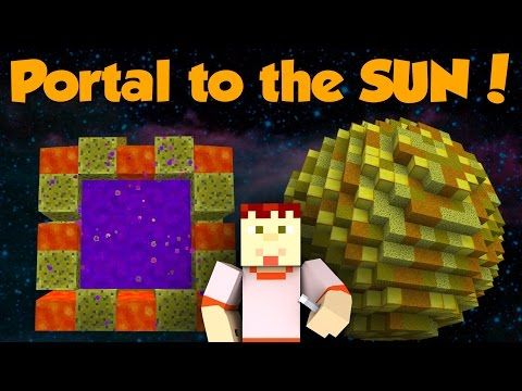 How to Make a Portal to the MOON in Minecraft (No Mods