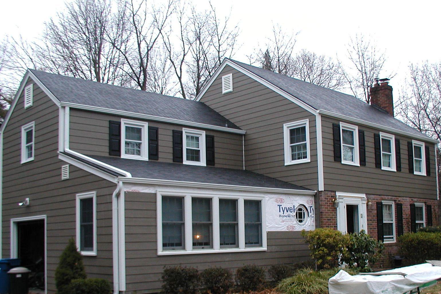 Top  Brown Houses With White Trim Light  Dark Exterior Ideas - Home exterior design ideas siding
