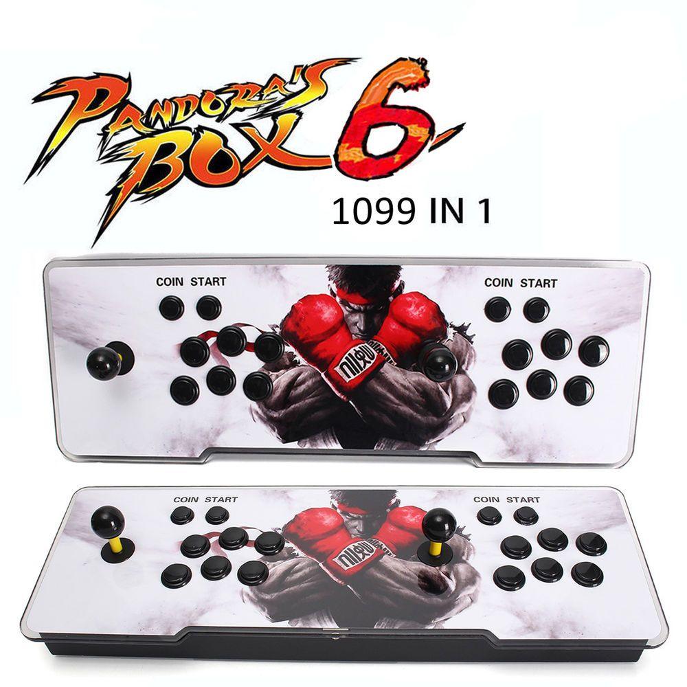 1099 In 1 Arcade Console Pandora's Box 6 Multiplayer Video