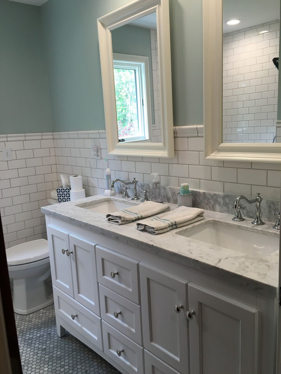 Features: -Faucet Handles Are Labeled Hot And Cold. -Does