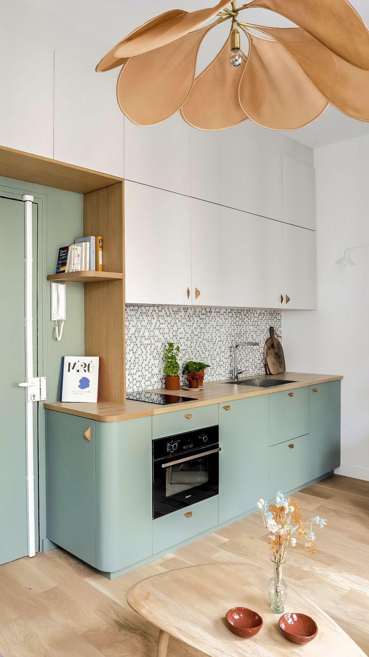 Ein Studio von 22 m2 erfrischend #erfrischend #studio en ...