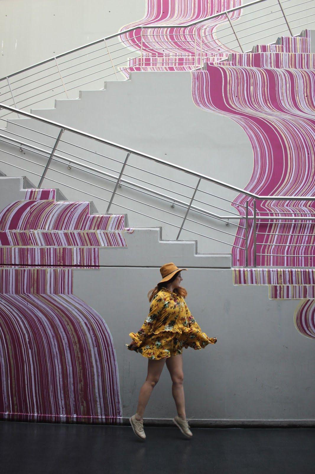 cascada usina de arte Murales, Buenos aires, Fotografía