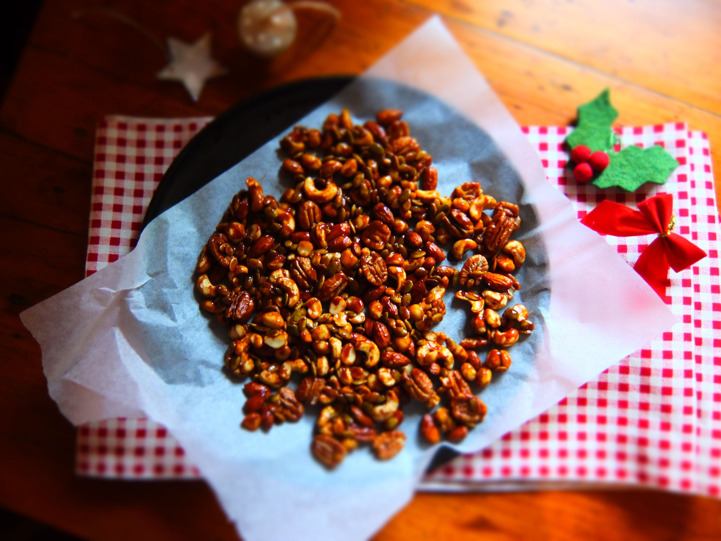 Caramelised Nuts GLUTEN FREE, GRAIN FREE, DAIRY FREE, SOY