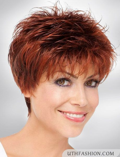 Short Hairstyles For Older Round Faces Short Hair