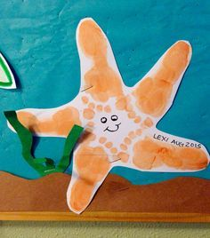 Star Fish Footprints