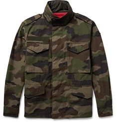 d5376d6b8 Moncler - Saturne Reversible Cotton-Ripstop and Shell Field Jacket ...