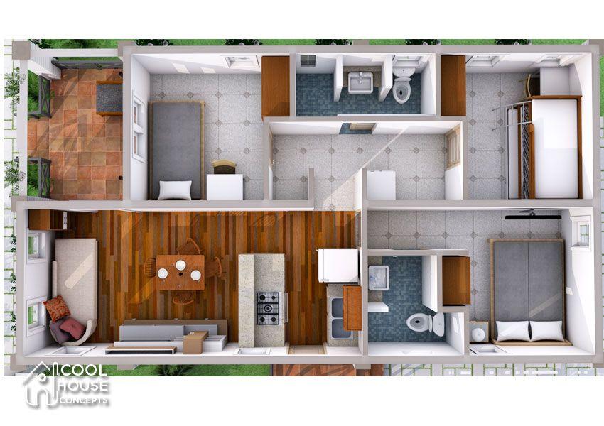 5 Small Houses Below P1 Million Floor Plan Budget Estimates Small House Plans Small Home Plan House Plans