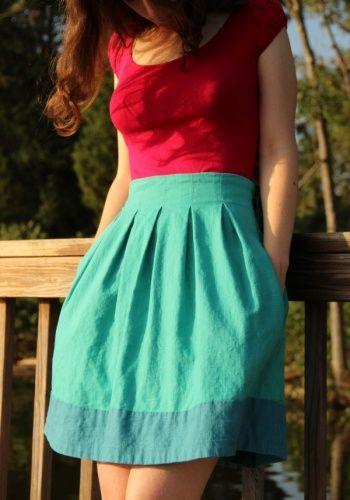 Chardon Skirt | couture | Pinterest | Selbermachen, Nähen und Kleidung