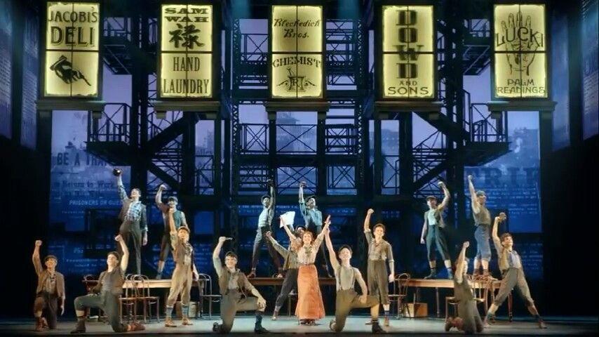 Pin By Maggie Natt On Newsies Kids Theater Newsies Broadway Musicals