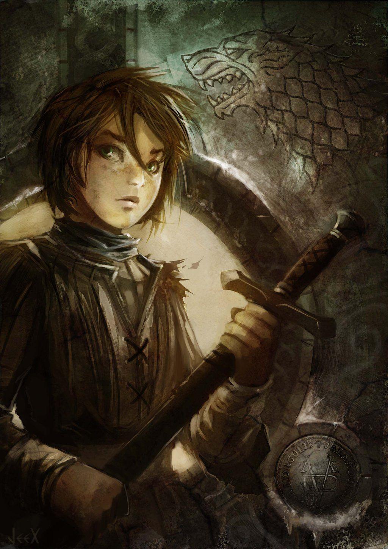 Arya Stark by Jeex-Farfadet