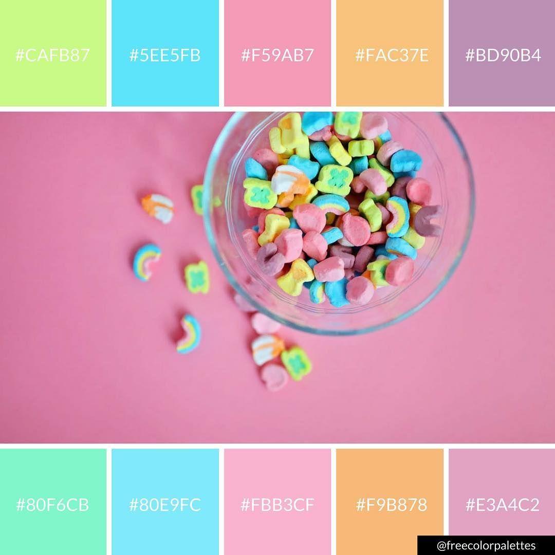 Lucky Charms | Pastel Dream |Color Palette Inspiration. | Digital ...