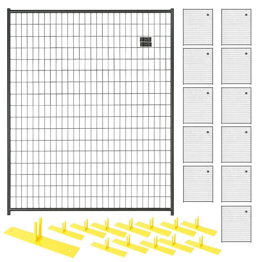 Unique Black Wire Fence Panels Model - Wiring Schematics and ...