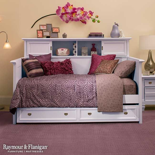 Varsity Kids Bookcase Daybed W Trundle Lavender Kids Bookcase Daybed With Trundle Bedroom Makeover