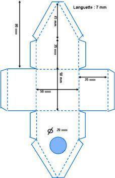 tuto du nichoir brico deco pinterest nichoirs tuto et deco bapteme. Black Bedroom Furniture Sets. Home Design Ideas