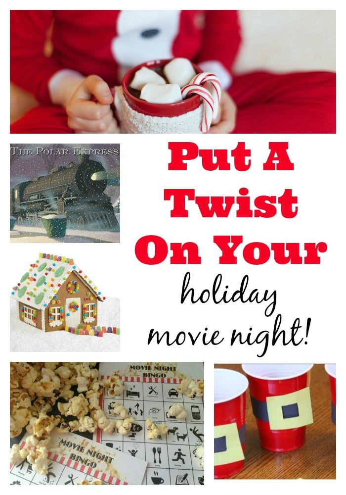 Put a twist on your holiday movie night