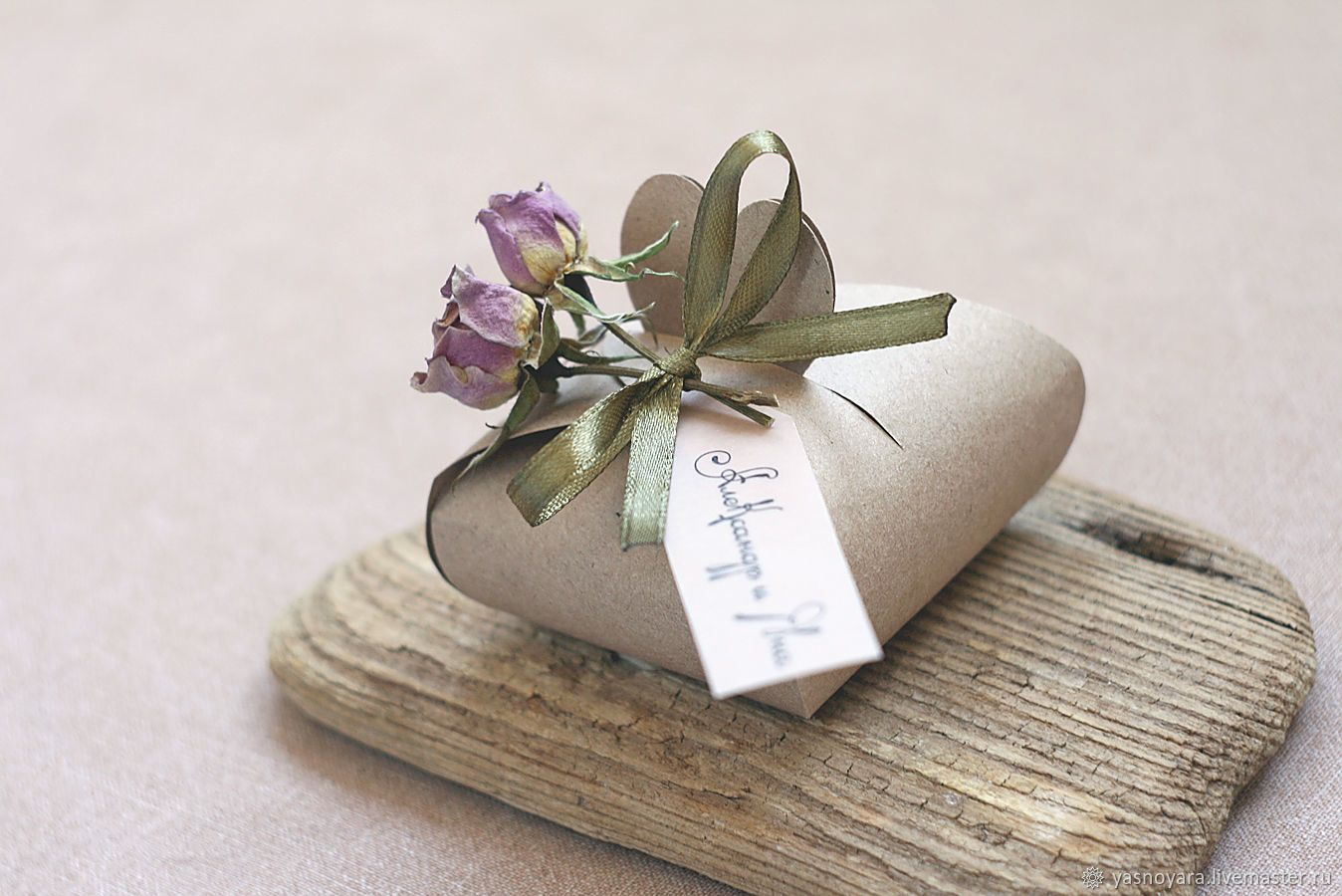 7bf37c15d604c Wedding bonbonniere crafting with dried flowers roses – shop online on  Livemaster with shipping