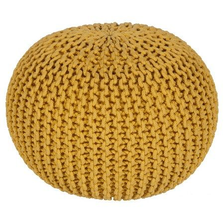 Alexia Sphere Pouf Target With Images Yellow Footstool Pouf