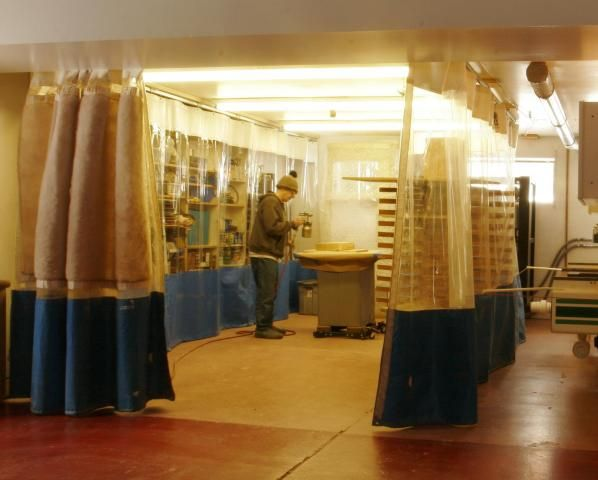Wood Shop Curtains Curtains Showroom Design Industrial Curtains
