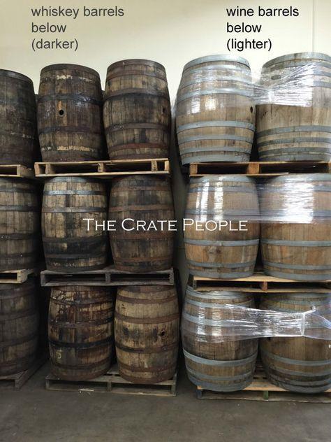 Used Retired Whiskey Amp Wine Barrels Wine Barrel