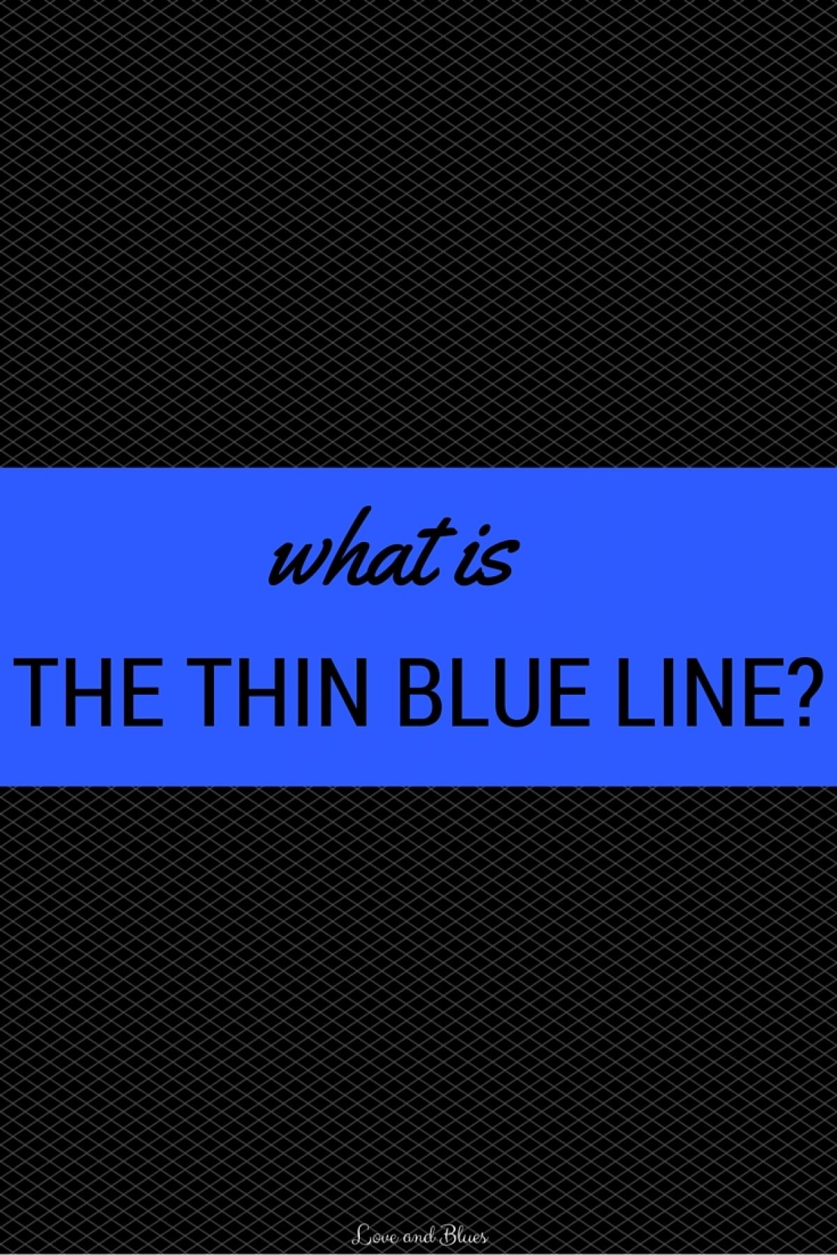 thin blue line essay Invited audience members will follow you as you navigate and present people invited to a presentation do not need a prezi account this link expires 10 minutes after you close the presentation a maximum of 30 users can follow your presentation learn more about this feature in our knowledge base article.