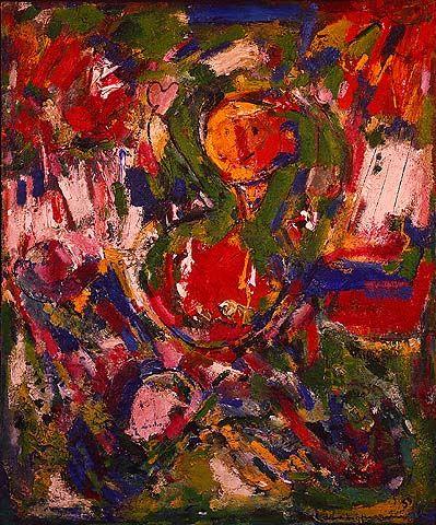 Hans Hofmann / Le Gilotin / 1953 / oil on canvas