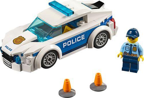 Lego City Police Patrol Car 60239 6259422 Best Buy In 2020 Lego City Police Lego Police Car Lego City