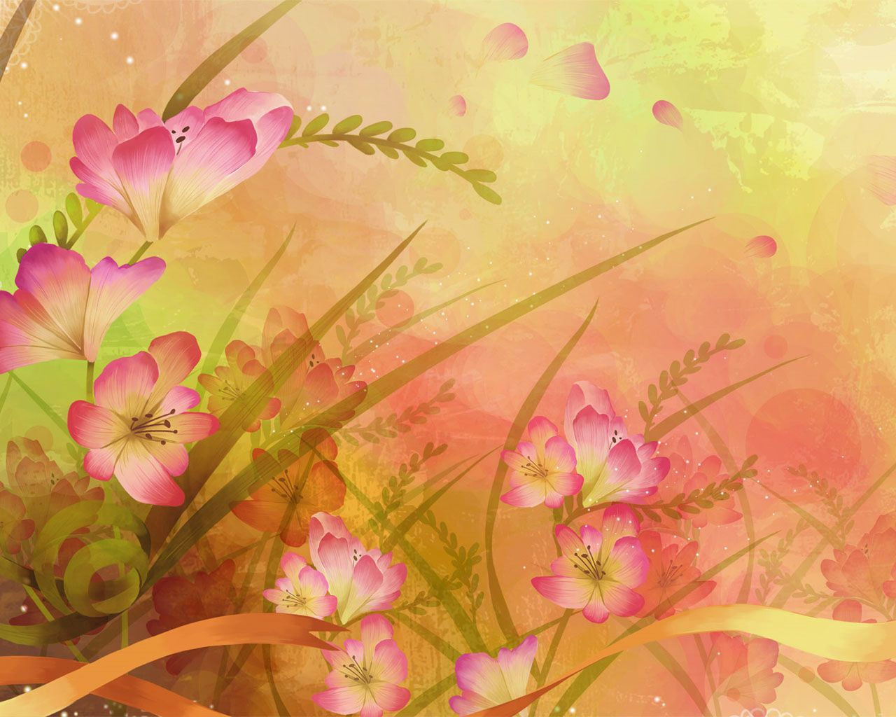 Floral Backgrounds 40 Fabulous Collections Flower Art Flower