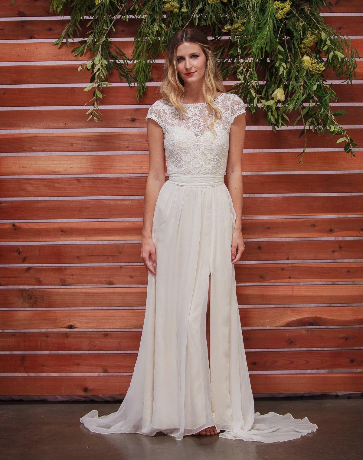 Lace dress wedding  Natalie Silk  Lace Gown  Fall  Wedding  Pinterest  Wedding