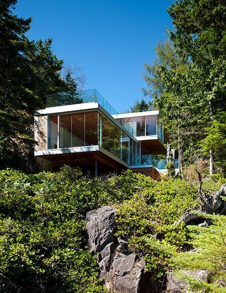 11 Must See Houses In The Woods Beautiful Modern Forest Houses