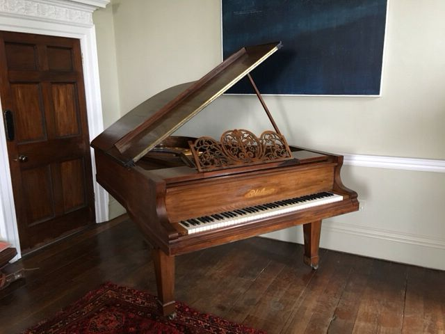 1890 Blüthner Aliquot Strung Rosewood Boudoir Grand Piano rebuilt by Chiltern Pianos www.chilternpianos.co.uk