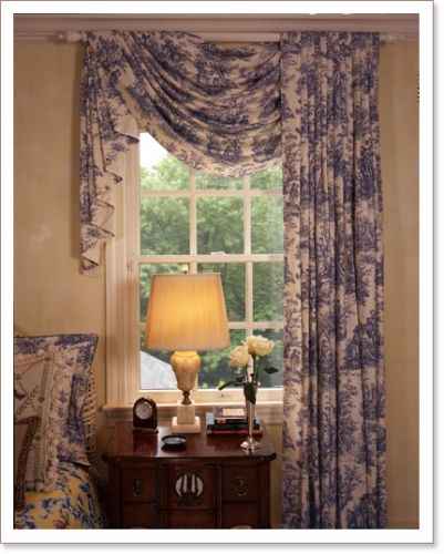 Drapes To One Side; Opposite Position On Other End Of Room.