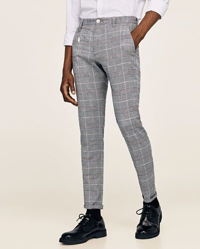 6f1d53f922827 CHECK TROUSERS-View all-TROUSERS-MAN | ZARA United States | Fly Guy ...