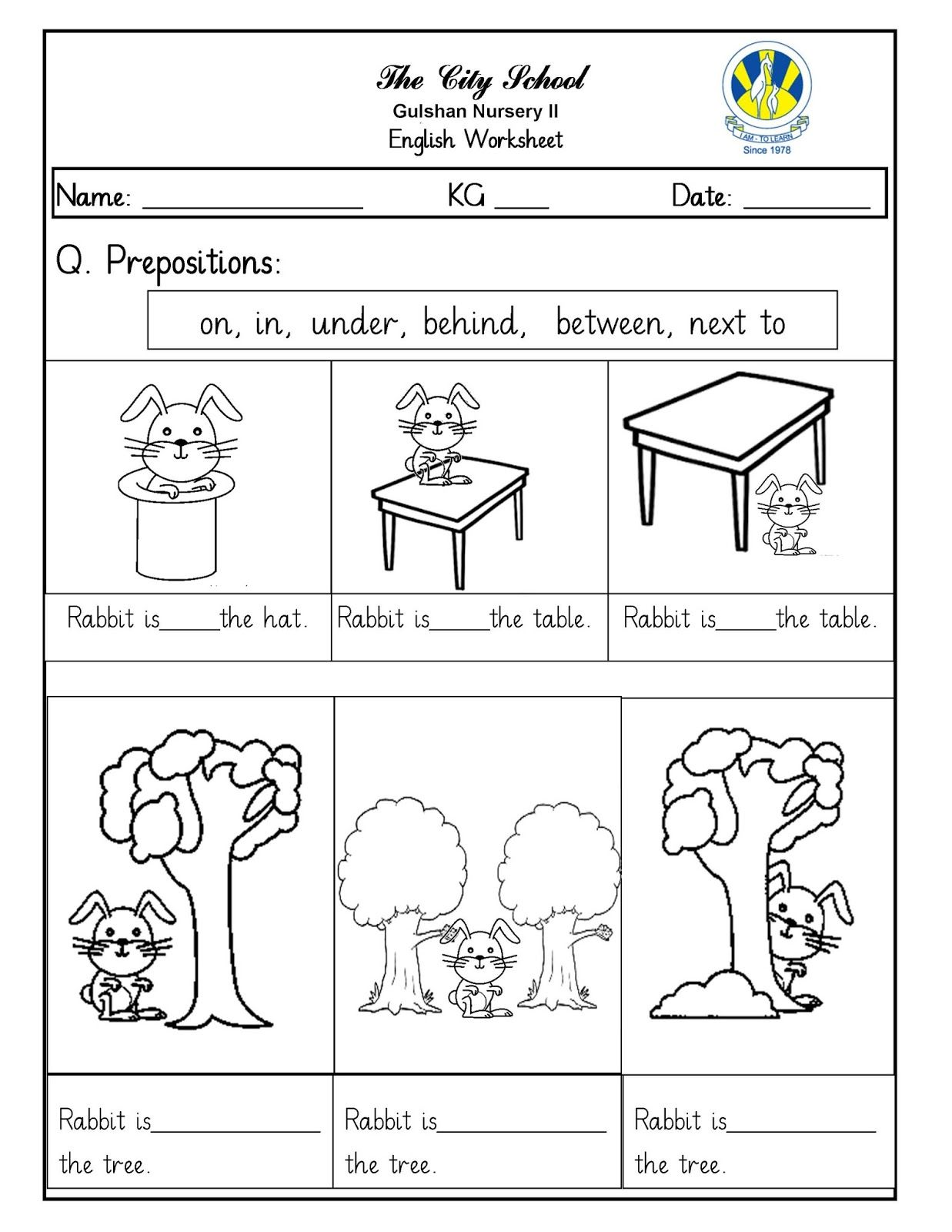 Imagen relacionada Prepositions, Preposition worksheets