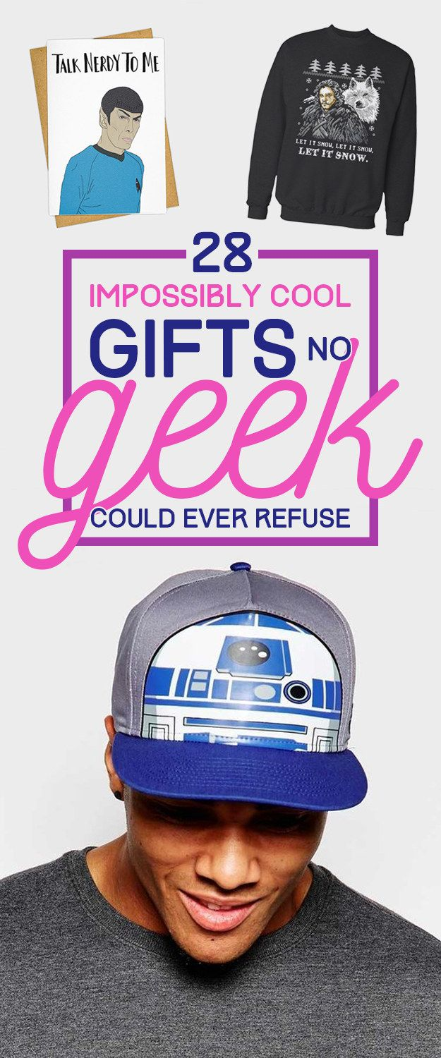 28 Impossibly Cool Gifts No Geek Could Ever Refuse