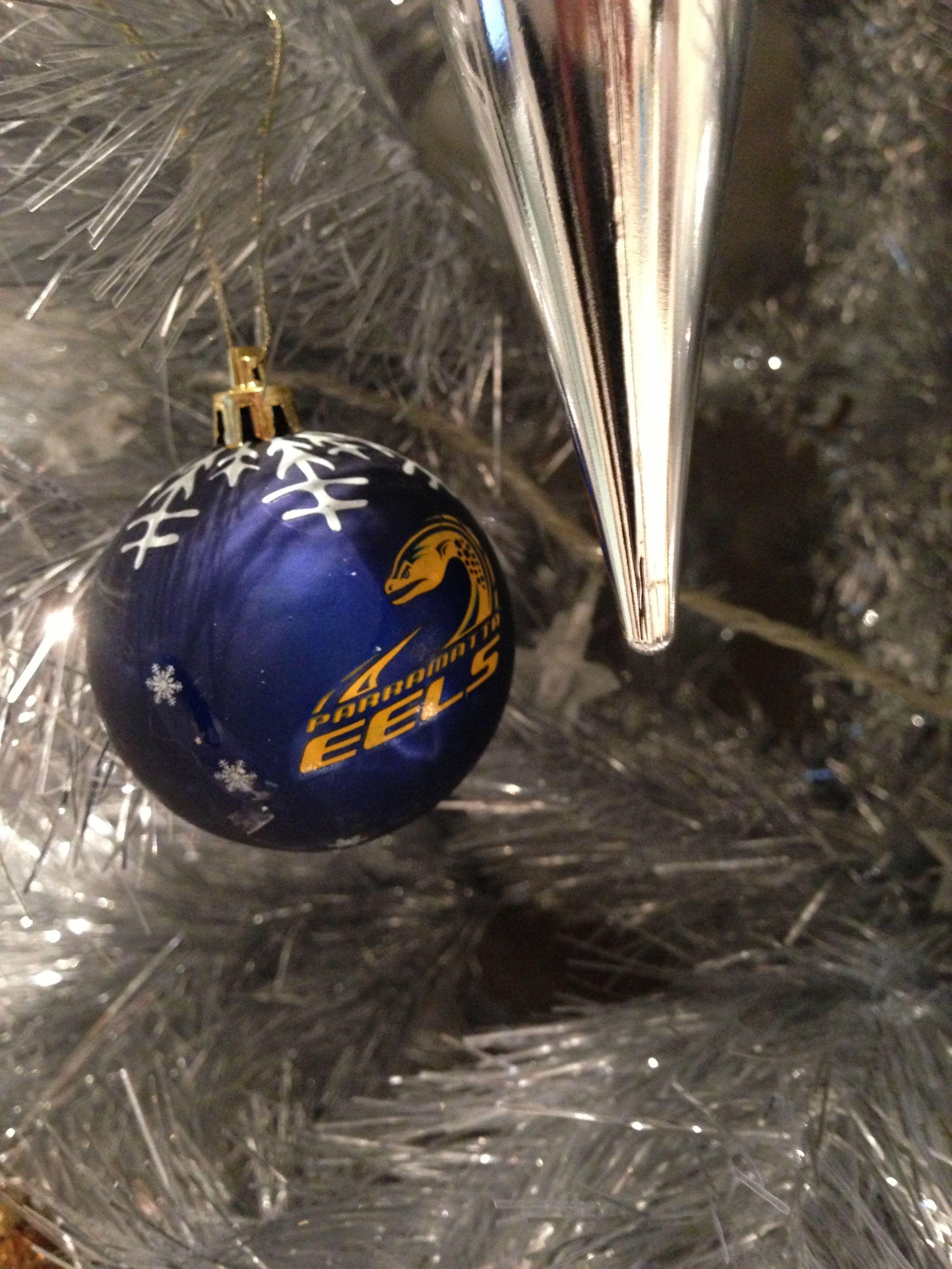 Parra Eels Christmas Balls