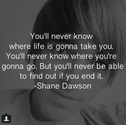 Depression Quotes Youtube: Shane Dawson