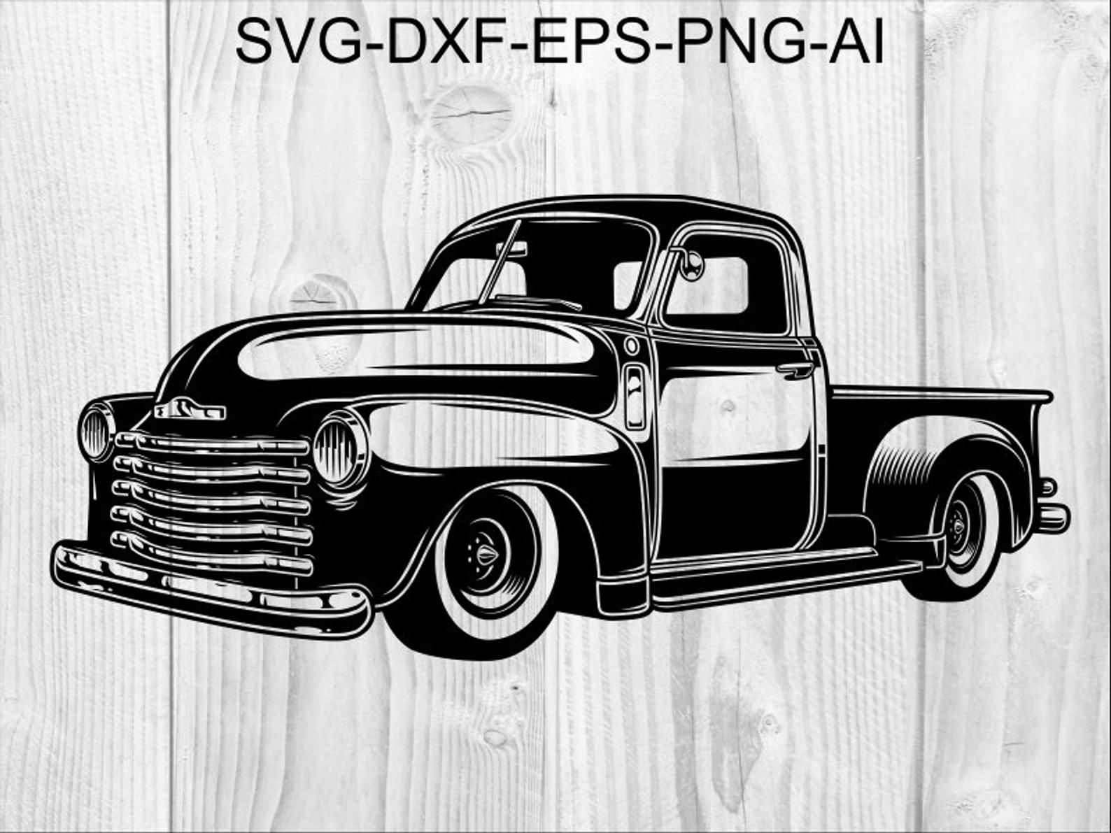 Truck Svg 9 Retro Pickup Pickup Truck Svg Vintage Pick Up Etsy In 2021 Pickup Trucks Trucks Truck Storage