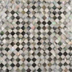 Seamless Backing Mother Of Pearl Tiles Solid Backing Mop Mosaic