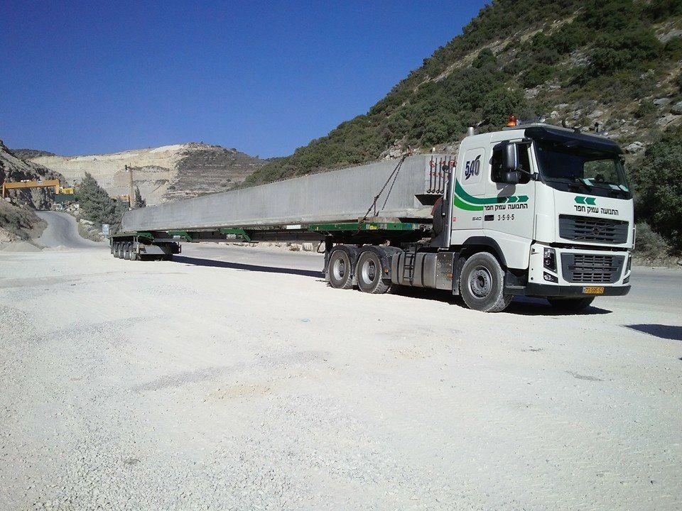 Faymonvillegroup Extending Loading Platform Flatbed Semitrailer Transport Long Bulky Loads Steering Angle Low Semi Trailer Haulage Transportation