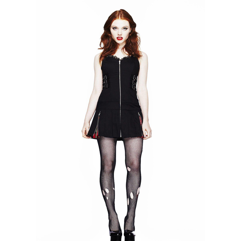 Hell Bunny Black Kleid BAD GIRL DRESS black: Amazon.de: Bekleidung ...