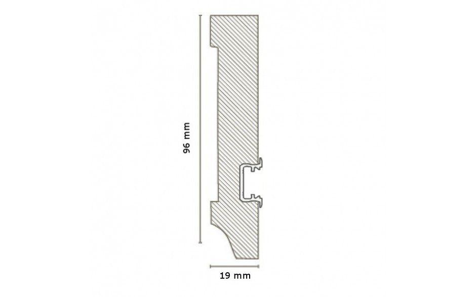 Licht - Fußleisten / Licht - Sockelleisten
