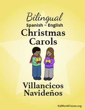 bilingual englishspanish christmas carols this is adorable for spanish classes esl classes or anyone who wants to sing