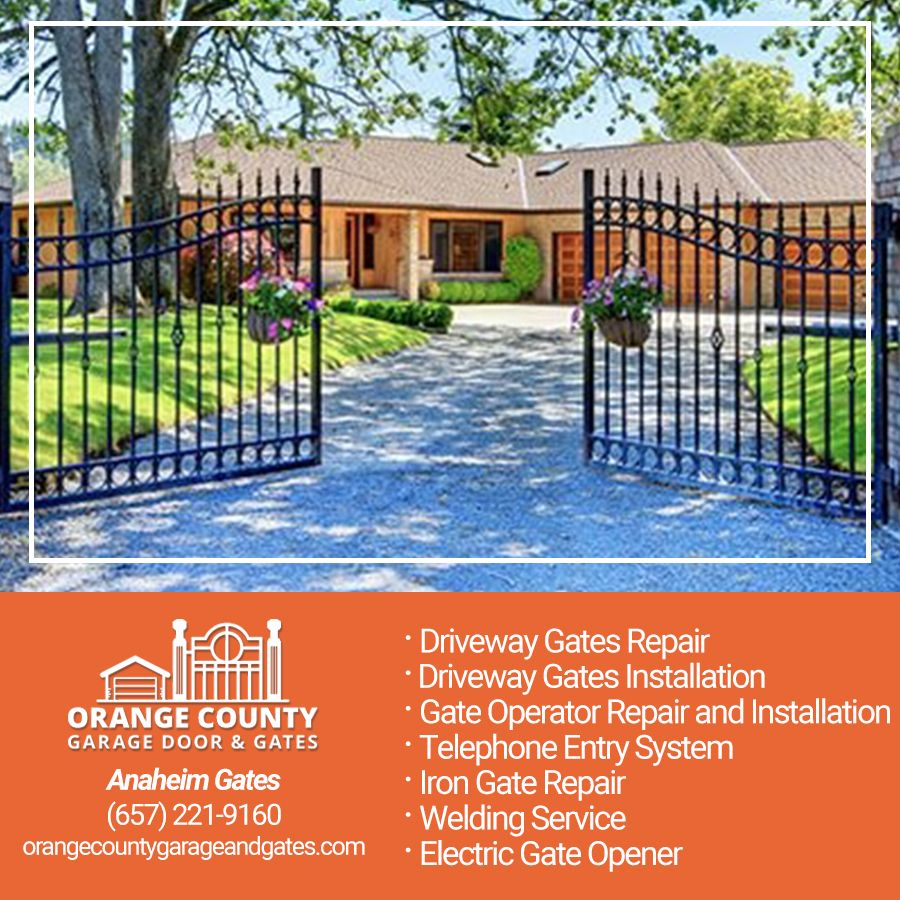 At Orange County Garage Door And Gates We Re Here To Provide You The Highest Quality Garage Repair Services Garage Door Springs Iron Gate Electric Gate Opener